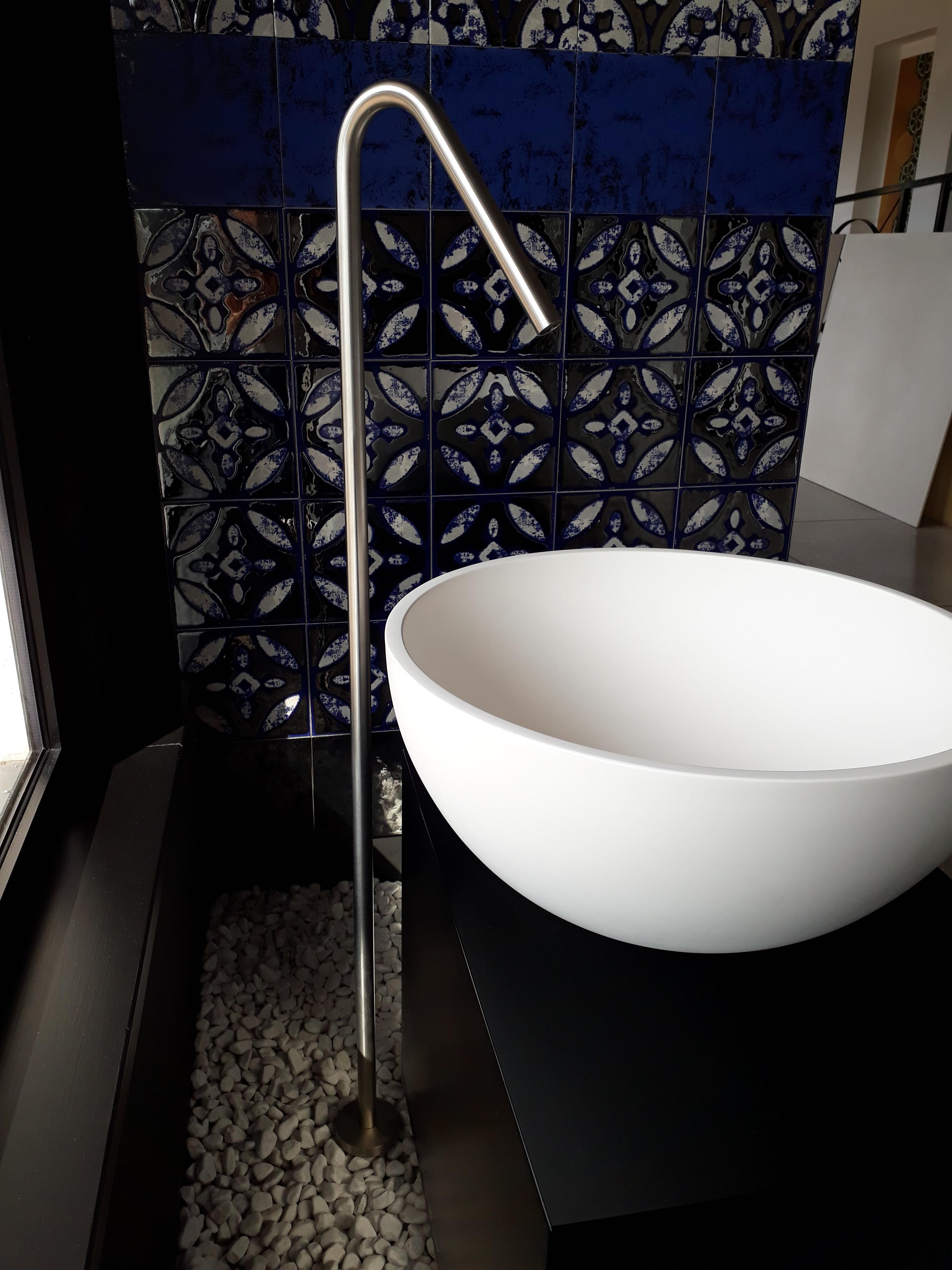 Canna da terra per lavabo Antonio Lupi Ayatisimple - Bagno-Store .com